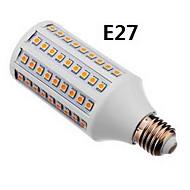 E27 / GU10 15w 800-950lm 따뜻한 / 자연 하얀 빛 옥수수 LED 전구 108x5050smd (110-240V)