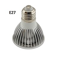 GU10/E26/E27 5 W 1 COB 500LM LM Meleg fehér/Hideg fehér PAR Állítható Reflektor AC 220-240/AC 110-130 V