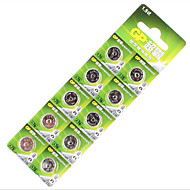 1.5V lr44 butang litium bateri (10 keping)