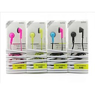 la nueva moda de 3,5 mm generales auriculares in-ear (colores surtidos)