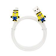 Disney Aminion Charging Cable For Iphone 5G/5S/5C/6/6PLUS Ipad Air 2 Ipad Mini