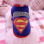 Camiseta - Verão - Azul / Amarelo / Cinzento - Casamento / Fantasias - de Terylene - para Cães / Gatos - S / M / L / XL / XXL