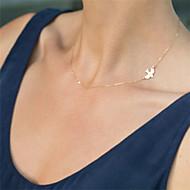 Női Rövid nyakláncok Ötvözet minimalista stílusú Divat Képernyő Szín Ékszerek Különleges alkalom Születésnap