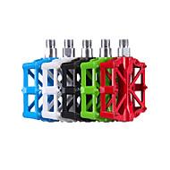 固定ギア自転車山の自転車アクセサリーアルミニウム合金ペダル5色用ベースキャンプの超軽量ペダル