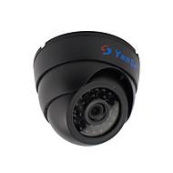 yanse® 1000tvl 2.8mm plastični unutarnji d / n CCTV kamere ir 24 na čelu kupole žičani 632cf