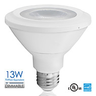 Vanlite E26 13W LED Spotlight Light PAR30 Dimmable 800lm 75watt Equivalent AC100-120V