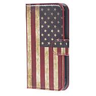 Varten Samsung Galaxy kotelo Lomapkko / Korttikotelo / Tuella / Flip Etui Kokonaan peittävä Etui Lippu Tekonahka Samsung Xcover 3