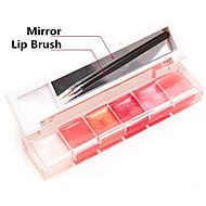 Lipgloss Nass / Schimmer Gel Glitter Lipgloss / Farbiger Lipgloss / Feuchtigkeit Rosa