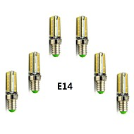 4W E14 / G9 LED Mais-Birnen T 104 SMD 3014 400-450 lm Warmes Weiß / Kühles Weiß AC 220-240 V 6 Stück