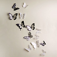 3D Wall Stickers 18PCS Butterfly  Wall Decals Wedding Decoration