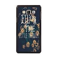 Na Samsung Galaxy Etui Etui Pokrowce Wzór Etui na tył Kılıf Napis PC na Samsung A8 A7 A5 A3