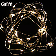 GMY jul lys kobbertråd streng lys
