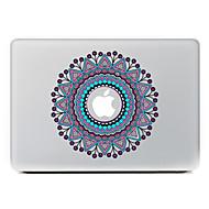 körkörös virág 25 dekoratív bőr matrica MacBook Air / pro / pro retina kijelző