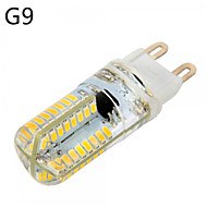 E14/G9/G4/E17 6W 64*3014 SMD 540LM Warm White/Cool White LED Corn Bulbs AC 220-240/AC 110-130 V