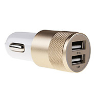Universal Metal Material Car Charger for for iPhone 6/iPhone 6 Plus and Others