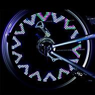 Eclairage de Vélo / bicyclette / Lampe Avant de Vélo / Lampe Arrière de Vélo / Éclairage pour roues de vélo LED - CyclismeEtanche / anti