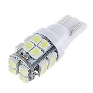 lorcoo ™ 20kpl x t10 20smd 3528 valkoisen led auton valot lamppu 194 168 2825 5W (2 sarja)