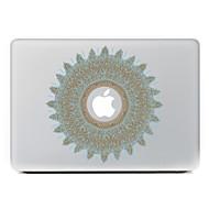 körkörös virág 20 dekoratív bőr matrica MacBook Air / pro / pro retina kijelző