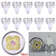 10pcs HRY® 4W MR16 450LM Light LED Spot Lights(12V)