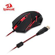 redragon max 2000dpi säädettävissä 6d optinen USB langallinen pelihiiri 6 painikkeet paino viritys asettaa kannettavan työpöydälle