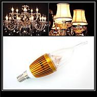 HRY® 3W E14 300-350LM LED Candle Lights LED Light Bulbs(220V)