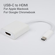 usb3.1 usb-c til HDMI-adapter kabel til Apple den nye MacBook vedio udgang