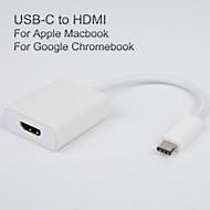 usb3.1 usb-c per cavo adattatore HDMI per Apple il nuovo output macbook vedio