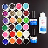 27PCS Nail Art UV Gel Nail Art Set