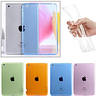 For Transparent Etui Bagcover Etui Helfarve Blødt TPU for Apple iPad Air 2 iPad Air