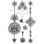 Bluezoo - Tatoeagestickers - Non Toxic/Patroon/Halloween/Groot formaat/Tribal/Onderrrug/Waterproof - Overige - voor