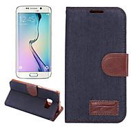 cowboy pénztárca kártya slot áll Flip bőrtok Samsung Galaxy S6 él + / S6 él / S6 / S5 / S4 / S5 mini / S4 mini / S4 aktív