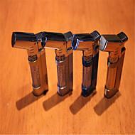 ms cigares d'or remplissent briquets coupe-vent continu (couleur aléatoire)