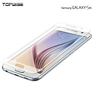 Topwise®Samsung Galaxy S6 Tempered Glass Screen Protectors Galaxy S6 Sticker Hardness 0.3mm Thin 2.5D High Definition