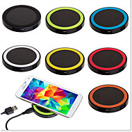 q5wireless lader witte chassisfor Apple iPhone Samsung s6 milletlenovo mobiele telefoon