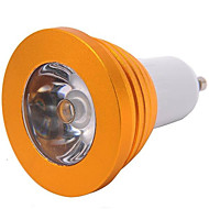 5W E14 / GU10 / E26/E27 LED Spotlight MR16 1 High Power LED 300 lm RGB Dimmable / Remote-Controlled AC 85-265 V 1 pcs