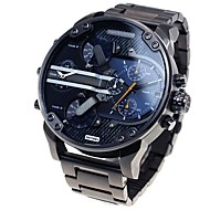 luxe merk mode mannen horloges strip waterdichte quartz horloge montre mensen militair diesel horloge sport horloges