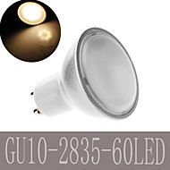1 pcs Ding Yao GU10 9W 60 SMD 2835 180LM Warm White/Cool White A Spot Lights AC 220-240V