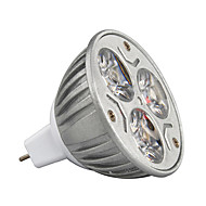 9W GU5.3(MR16) LED-spotlampen MR16 3 Krachtige LED 900 lm Warm wit / Koel wit / RGB Decoratief DC 12 V 1 stuks