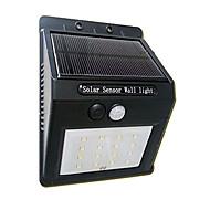 16LED lampada sensore di movimento alimentato pannello solare luce di sicurezza esterna del giardino della luce