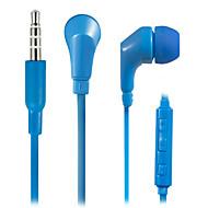 WHF-119 3,5 mm støjreducerende mike i øret øretelefon til iPhone og andre telefoner (assorterede farver)