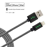 mfi certificeret skære 4ft (1.2m) lyn til usb sync og opladning kabel til Apple iPhone 7 6s 6 plus se 5s 5 / ipad mini