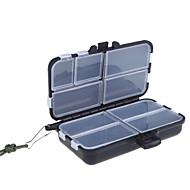 NO Fishing Tackle Boxes Tackle Box 11.4 * 7.3 * 4.5 Hard Plastic