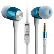 byz k460 (hi-fi těžký bas) do uší kov mobilní telefon headset