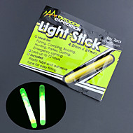 10pcs noche pesca flotador luz fluorescente resplandor stick lightstick 4.5 * 39mm herramientas de pesca de alta calidad