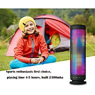 6W pols draagbare draadloze bluetooth speaker support kleurrijke LED verlichting voor telefoon iphone 6s samsung