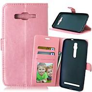Mert Samsung Galaxy tok Kártyatartó / Pénztárca / Állvánnyal / Flip Case Teljes védelem Case Egyszínű Műbőr SamsungXcover 3 / J7 / J5 /