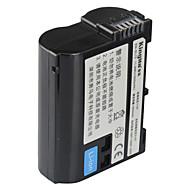 Kingma EN-EL15 digitalkamera batteri för Nikon D600 D610 D600E D800 D800E D810 D7000 D7100 D750 v1 mh-25