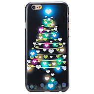 Christmas Style Heart-shaped Tree Pattern PC Hard Back Cover for iPhone 6 Plus
