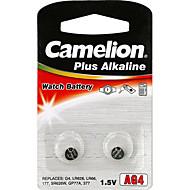 camelion 알카라인 버튼 셀 크기 ag4 (2PCS)