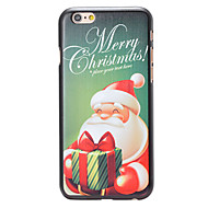 Christmas Style Green Merry Christmas Pattern PC Hard Back Cover for iPhone 6